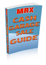max cash garage sale guide